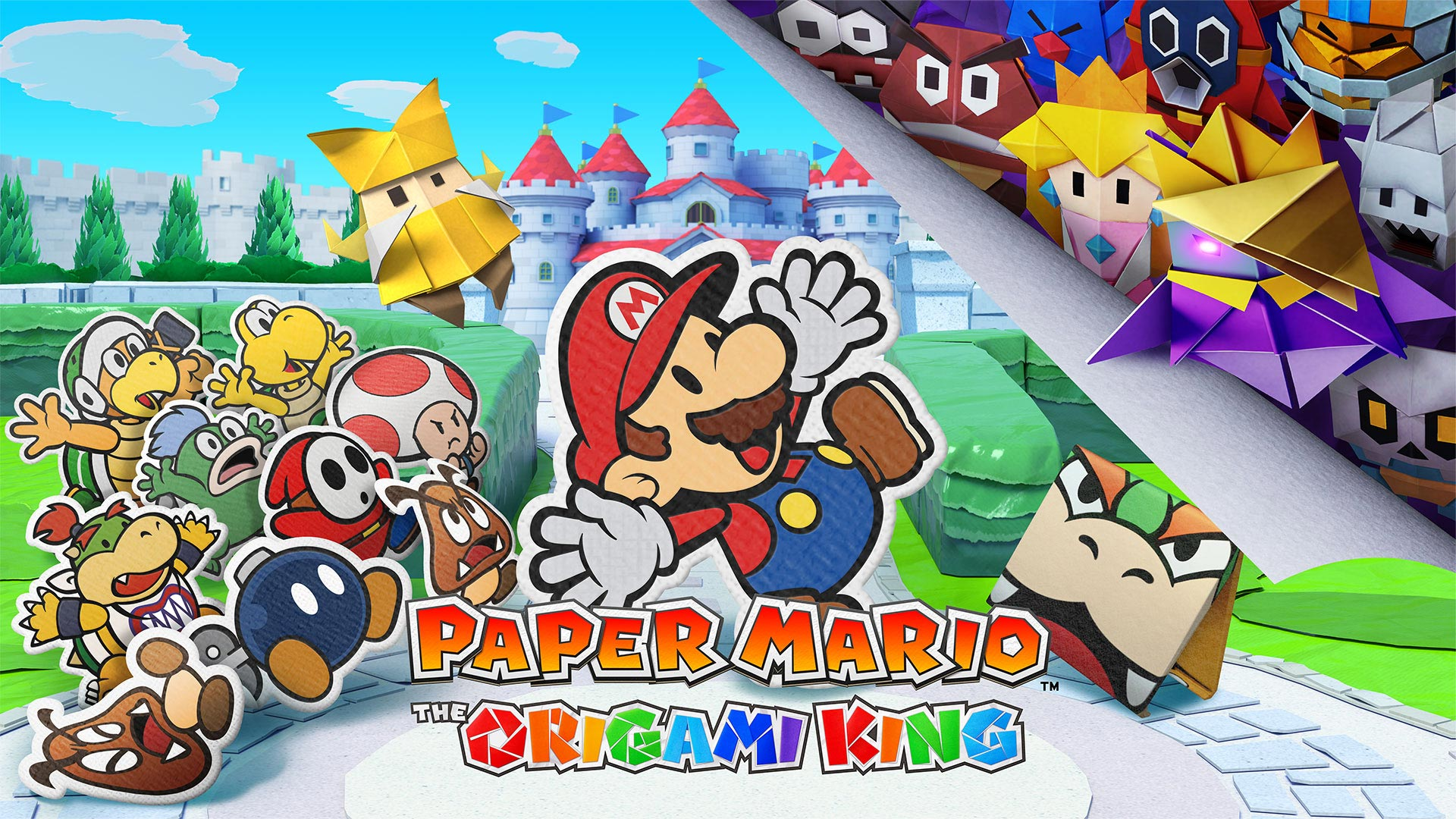 Paper Mario: The Origami King update and Updates