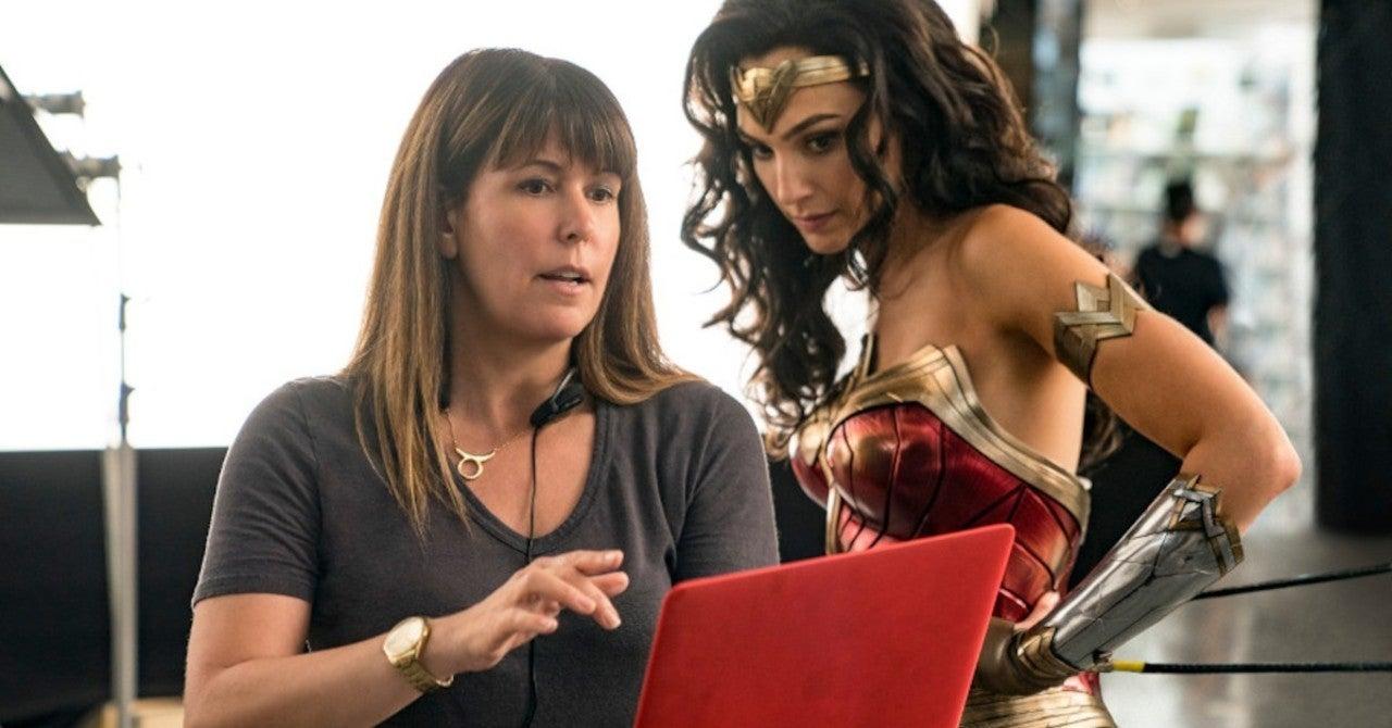 Wonder Woman: Gal Gadot and Director Patty Jenkins