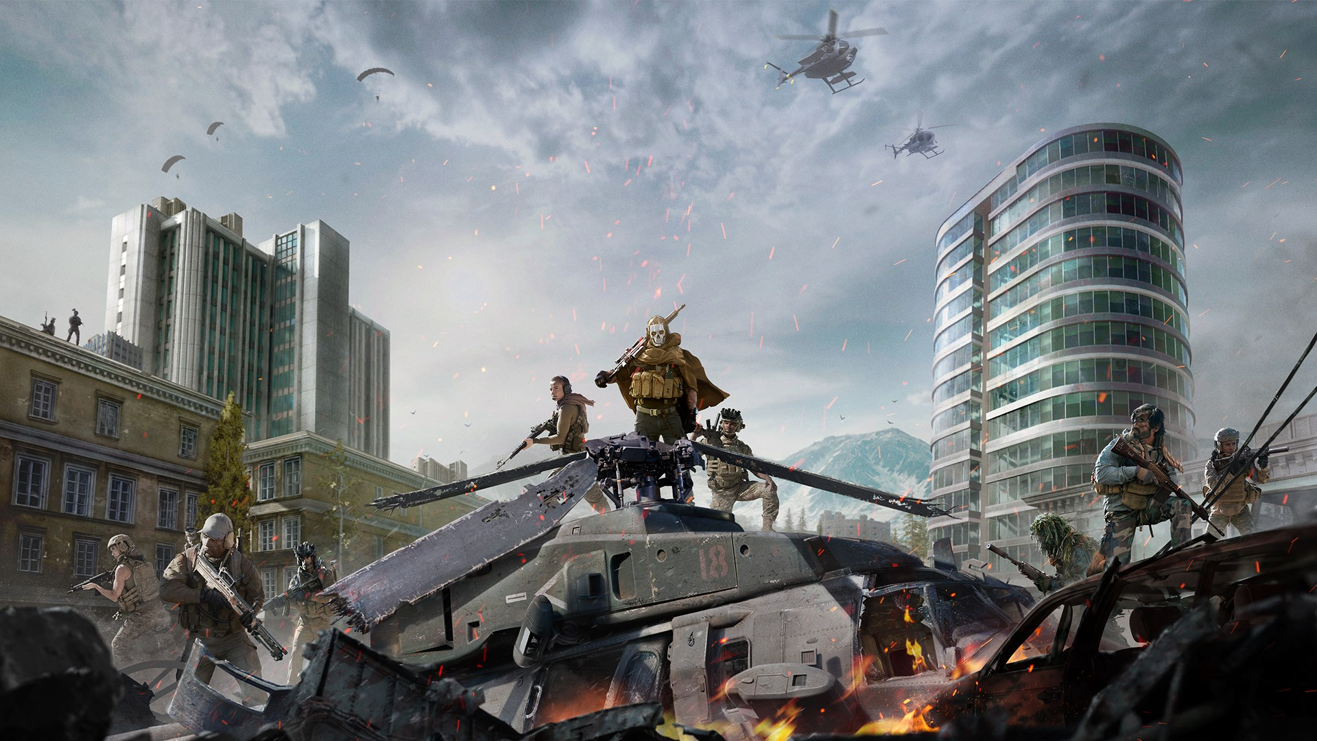 Call of Duty Modern Warfare and Warzone