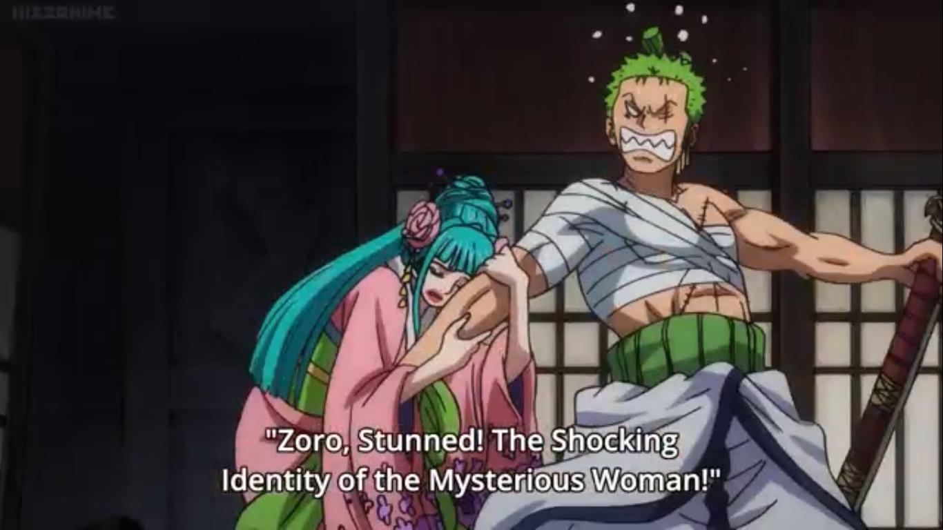 Hiyori Saves Zoro