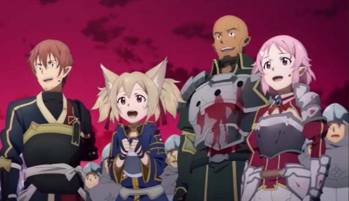 Sword Art Online Season 4 War of Underworld