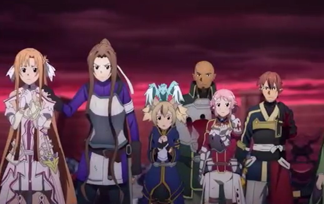Sword Art Online Season 4 War of Underworld