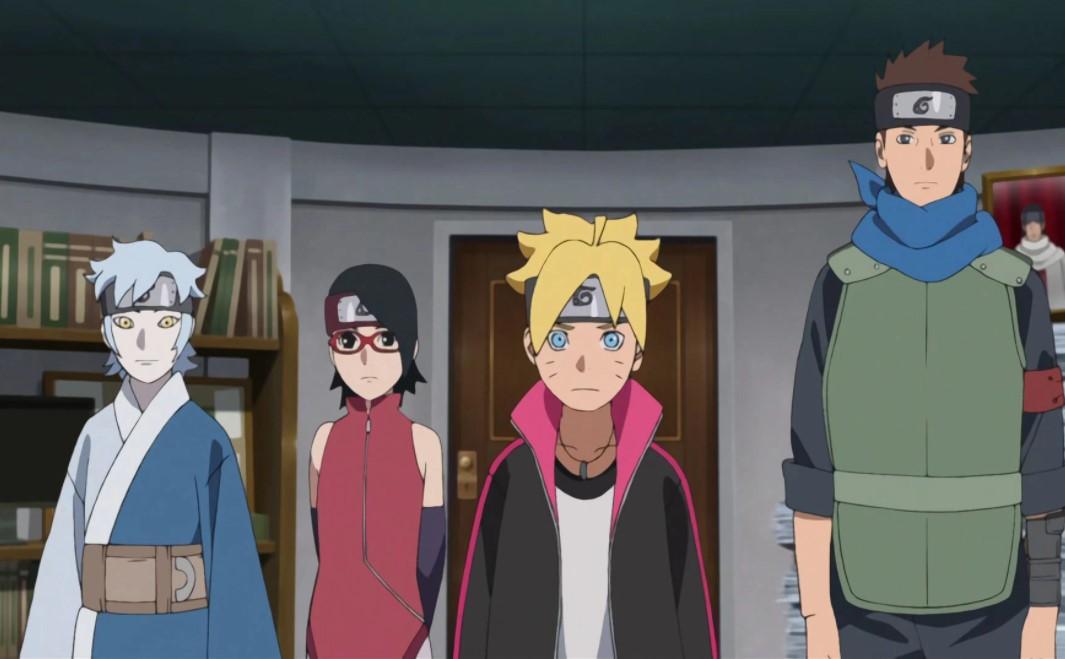 Boruto Naruto Next Generations Team 7
