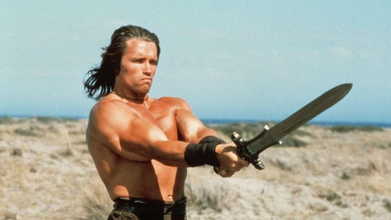 Conan The Barbarian Featuring Arnold Schwarzenegger