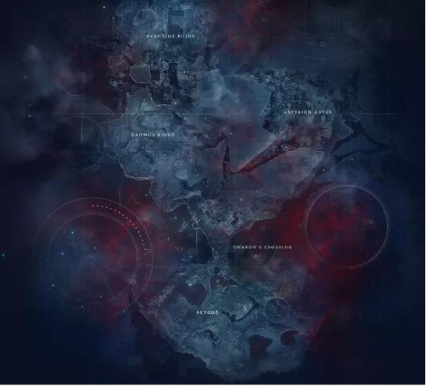 Destiny 2 Beyond Light Europa Map