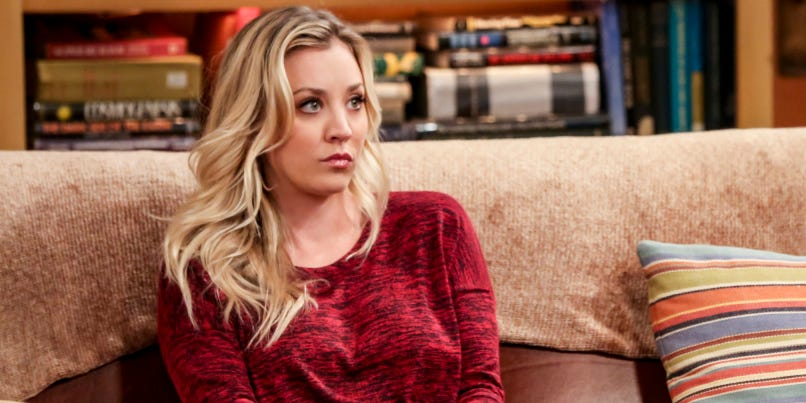 Kaley Cuoco on why she doesnt watch later episodes