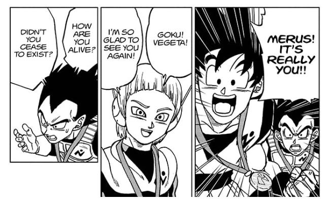 Dragon Ball super brings back Merus to life