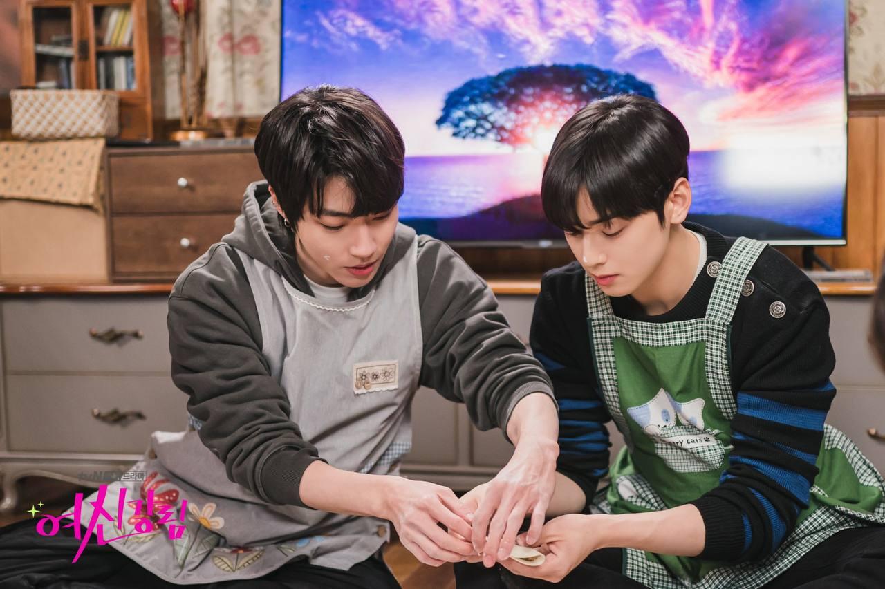 Seo-jun and Su-ho together