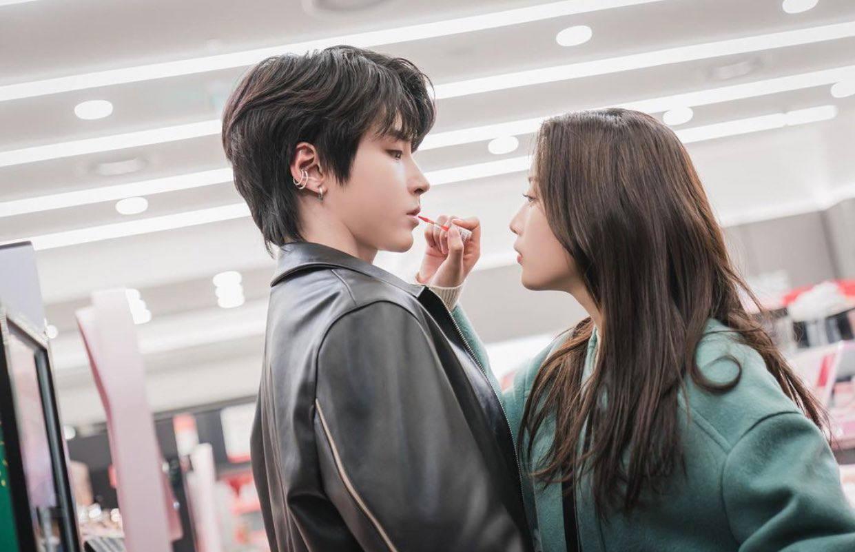 Seo-jun with Lim Ju-kyung