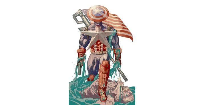 Tatsuki Fujimoto's Captain America