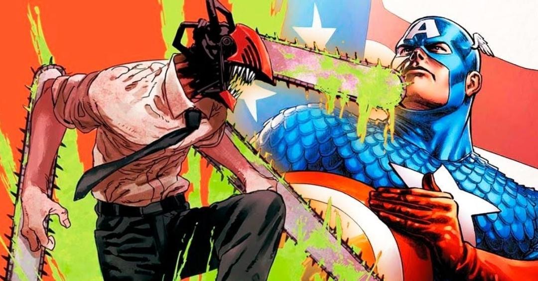 Chainsaw Man's Captain America