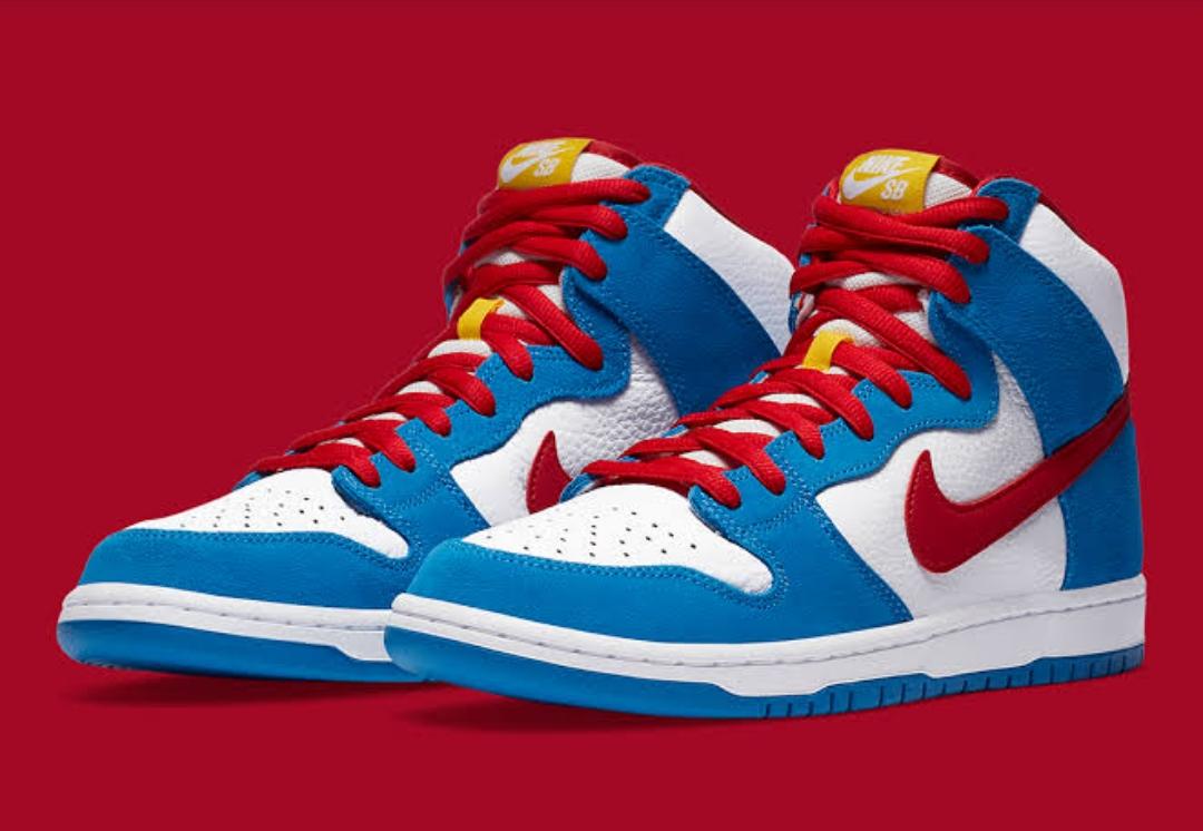 Nike's SB Dunk High Doraemon