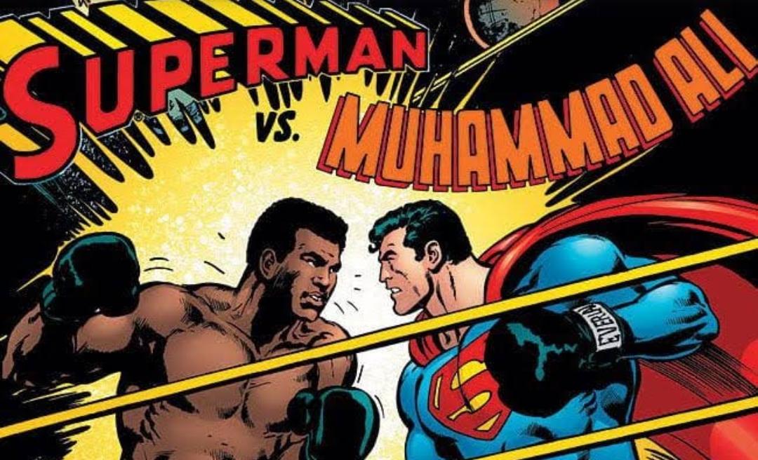 Superman vs. Mohammad Ali
