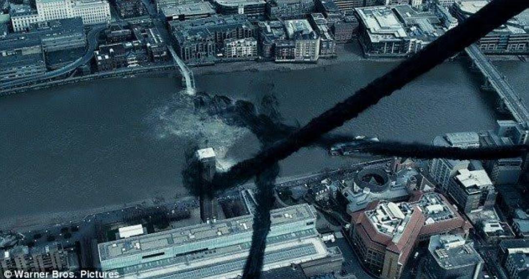 Destruction of Millennium Bridge