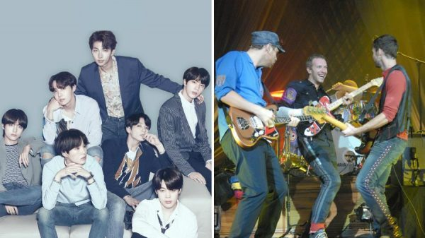 Bts and Coldplay collab