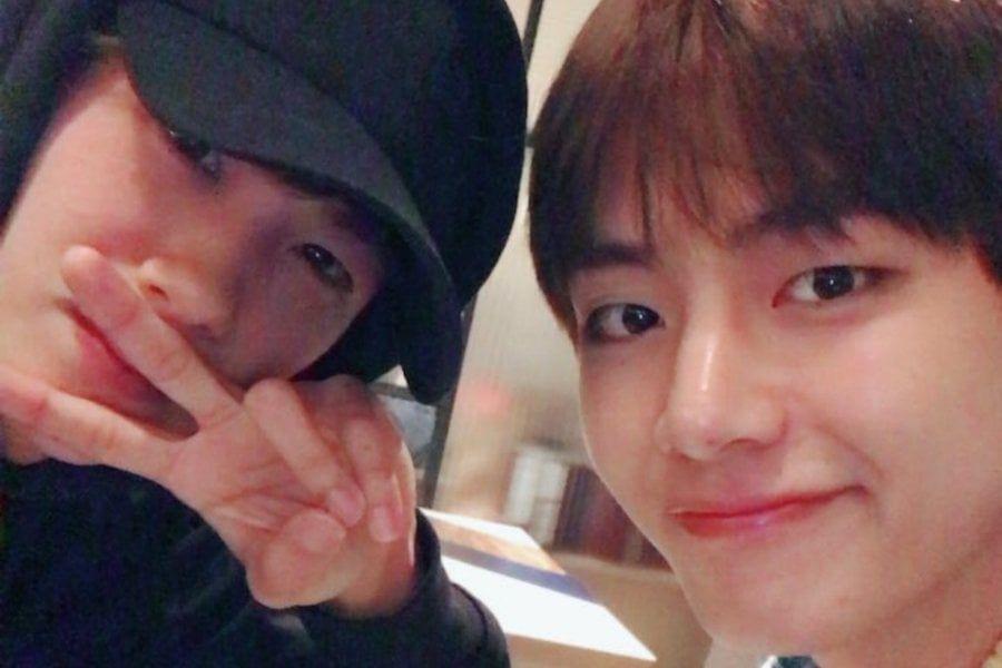 Park Hyung Sik and V