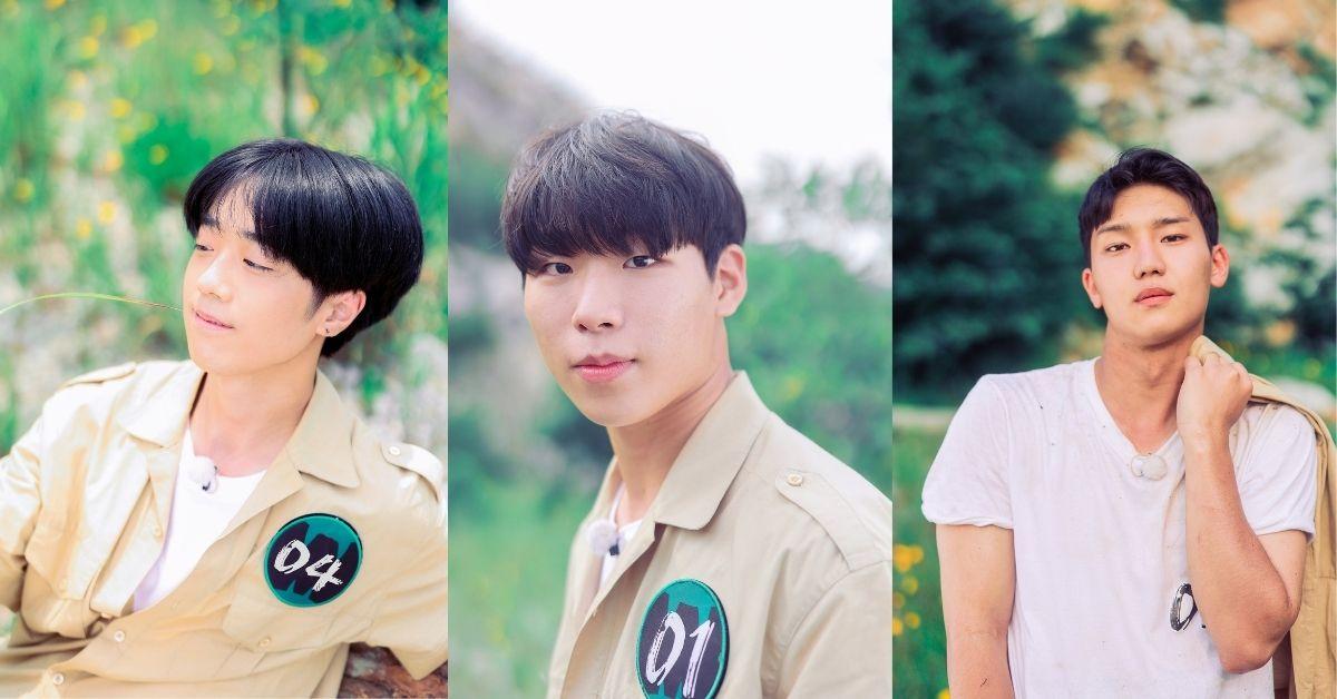 MBC Wild Idol contestants No.1-No.9