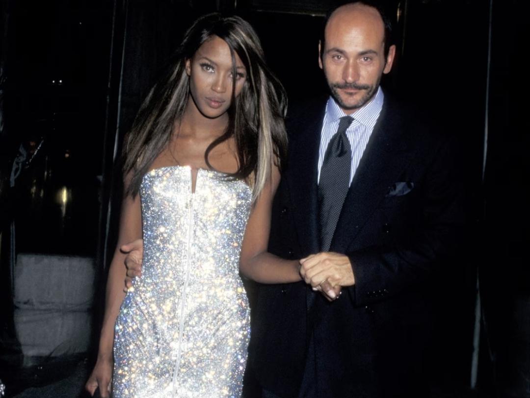 Naomi Campbell Met Gala 1995