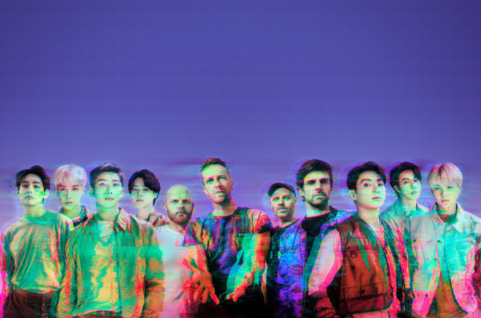 BTS and Coldplay My Universe Tiktok clip
