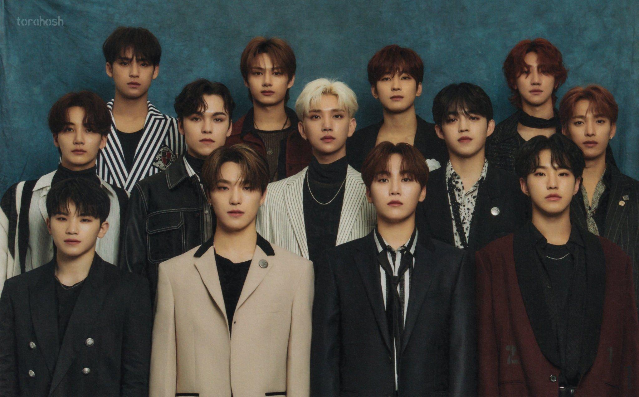 SEVENTEEN Kpop boy band